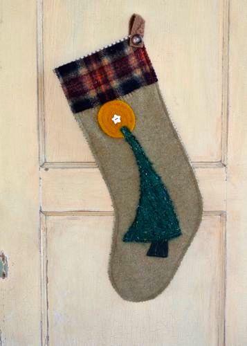Cimarrona Christmas Stocking